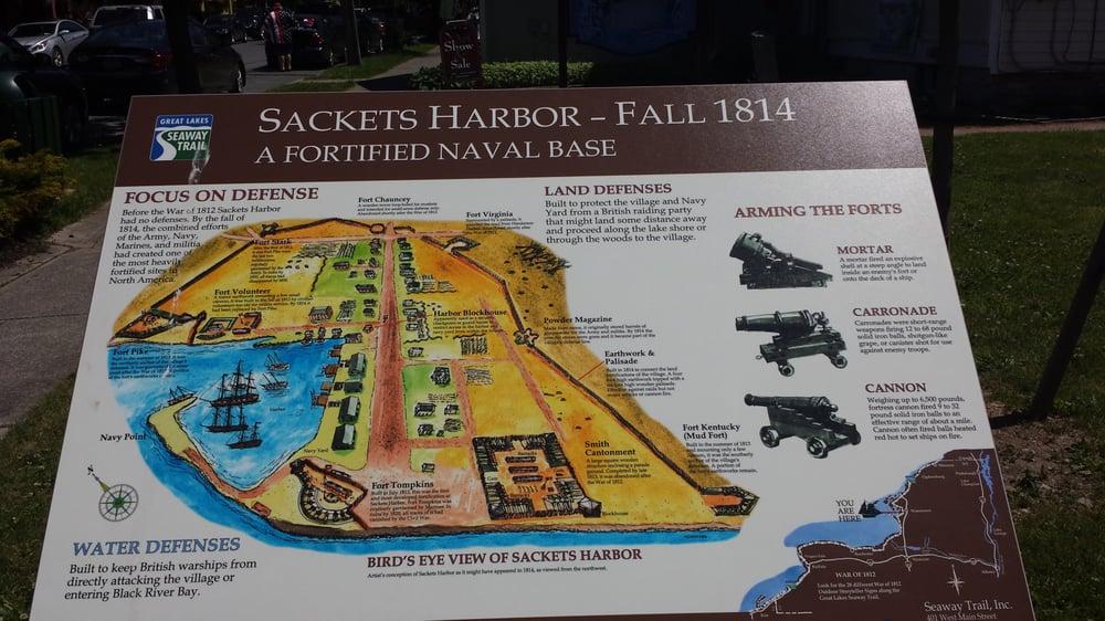 Sackets Harbor Battlefield: 240 Hill St, Sackets Harbor, NY
