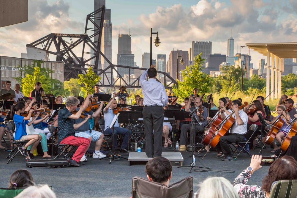 Side by Side with the Chicago Philharmonic