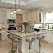 This Kitchen Was Photo Of Rock Fin Countertops Houston Tx United States Bright