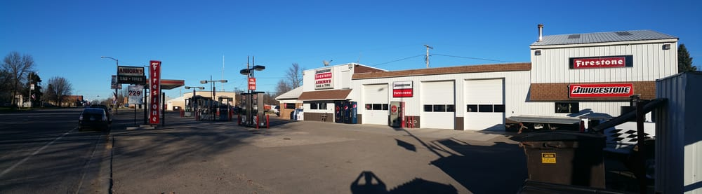 Anhorn's Gas & Tire: 216 S Main St, Medford, MN