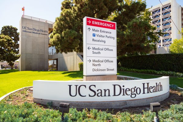 UC San Diego Medical Center, Hillcrest 200 W Arbor Dr San