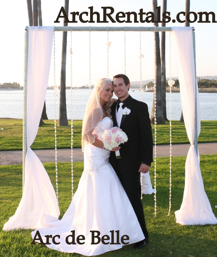 Wedding Altar Columns: Unique Wedding Arch ,Altar And Column Rentals, In Los