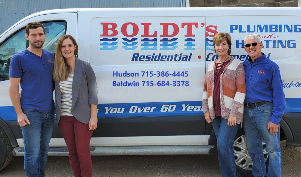 Boldt's Plumbing & Heating: 820 Main St, Baldwin, WI