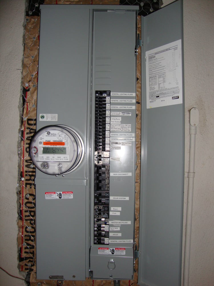 200 AMP New Main Electrical Upgreading. - Yelp