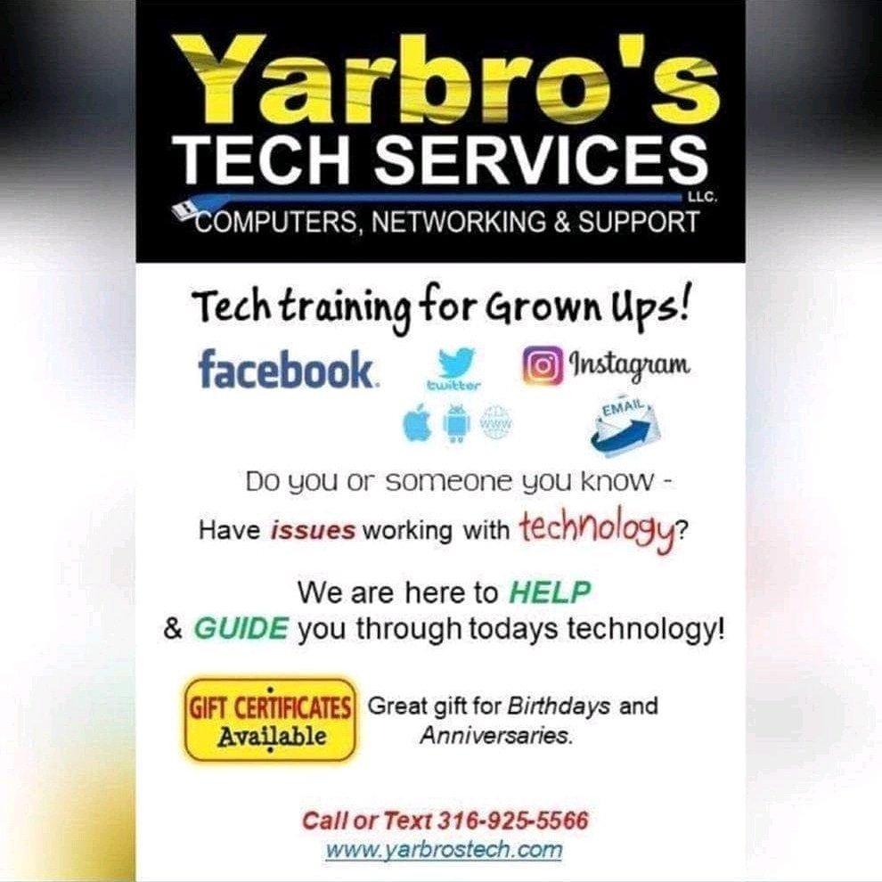 Yarbro's Tech Services: Belle Plaine, KS