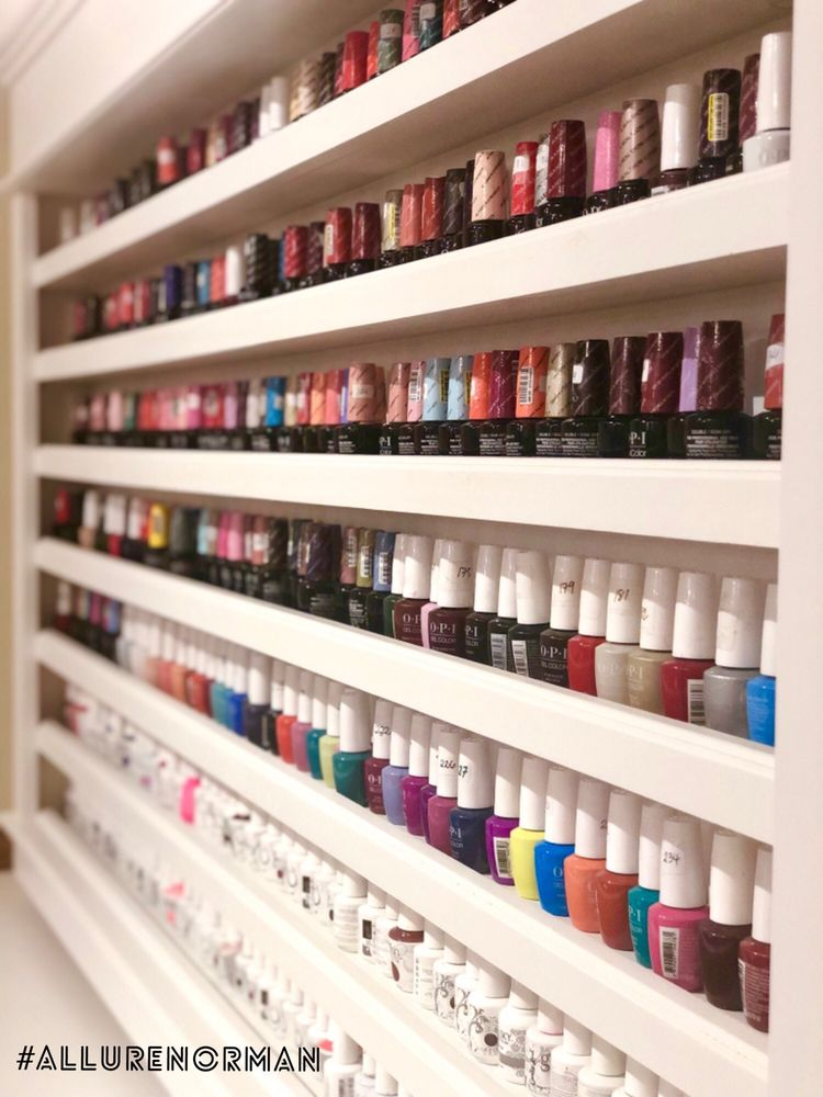 Allure Nails Spa of Norman: 1712 24th Ave NW, Norman, OK