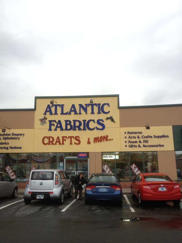 Atlantic fabrics crafts more specialty schools 114 for Craft stores in canada