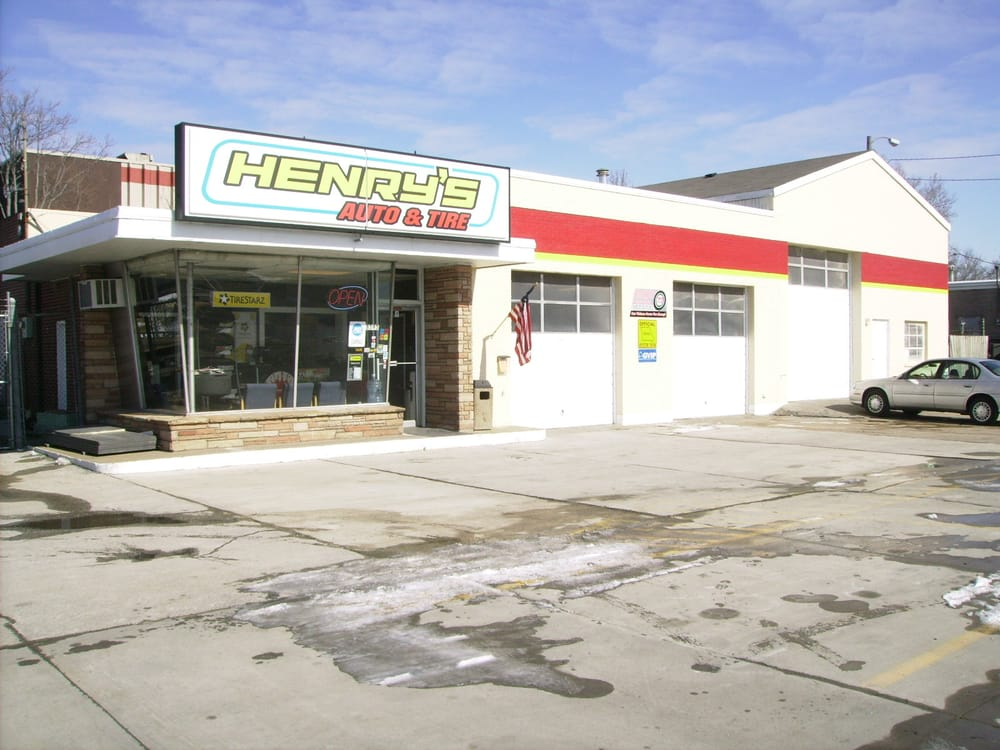 Henry's Auto & Tire: 8595 Page Ave, Overland, MO