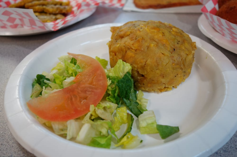 Mofongo fried mashed plantains yelp for Authentic puerto rican cuisine