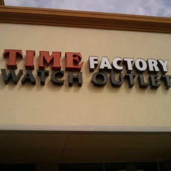 Time factory watch outlet watches 681 leavesley rd for Gilroy outlets jewelry stores