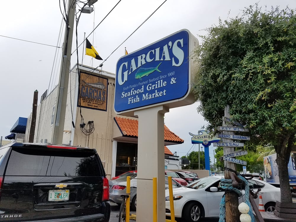 Garcia 39 s seafood grille fish market yelp for Garcia s seafood grille fish market