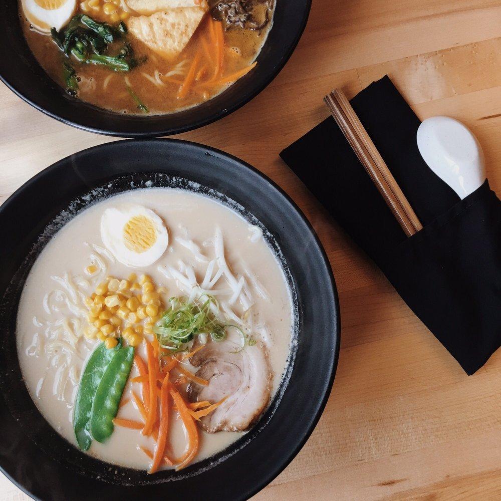 Food from Hiro Ramen