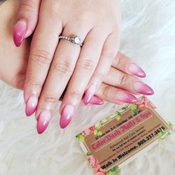 Photo of Colordash Nails & Spa - Oakville, ON, Canada. Ombré nails