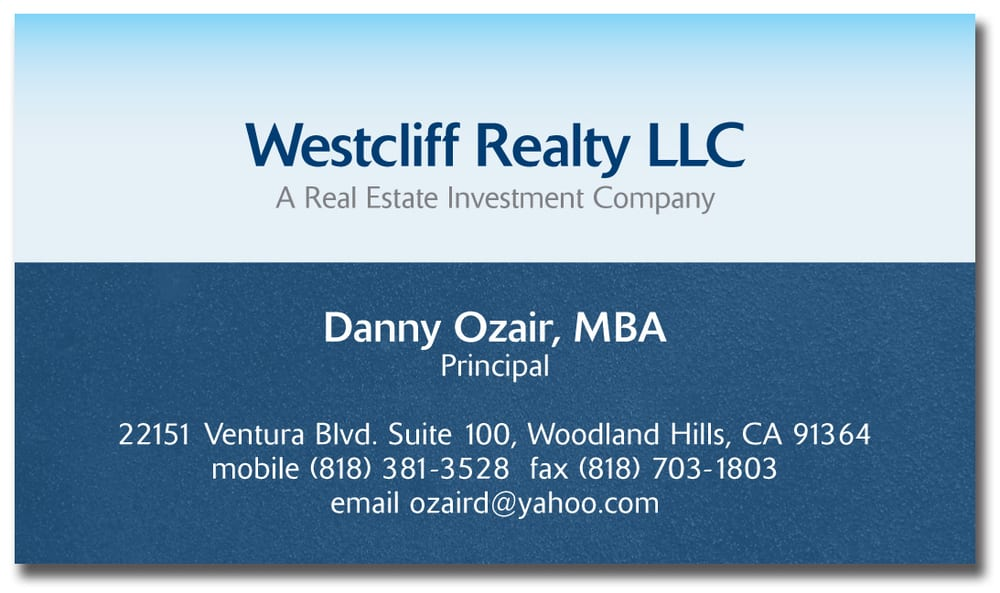 Business card and branding for a real estate investment company. - Yelp