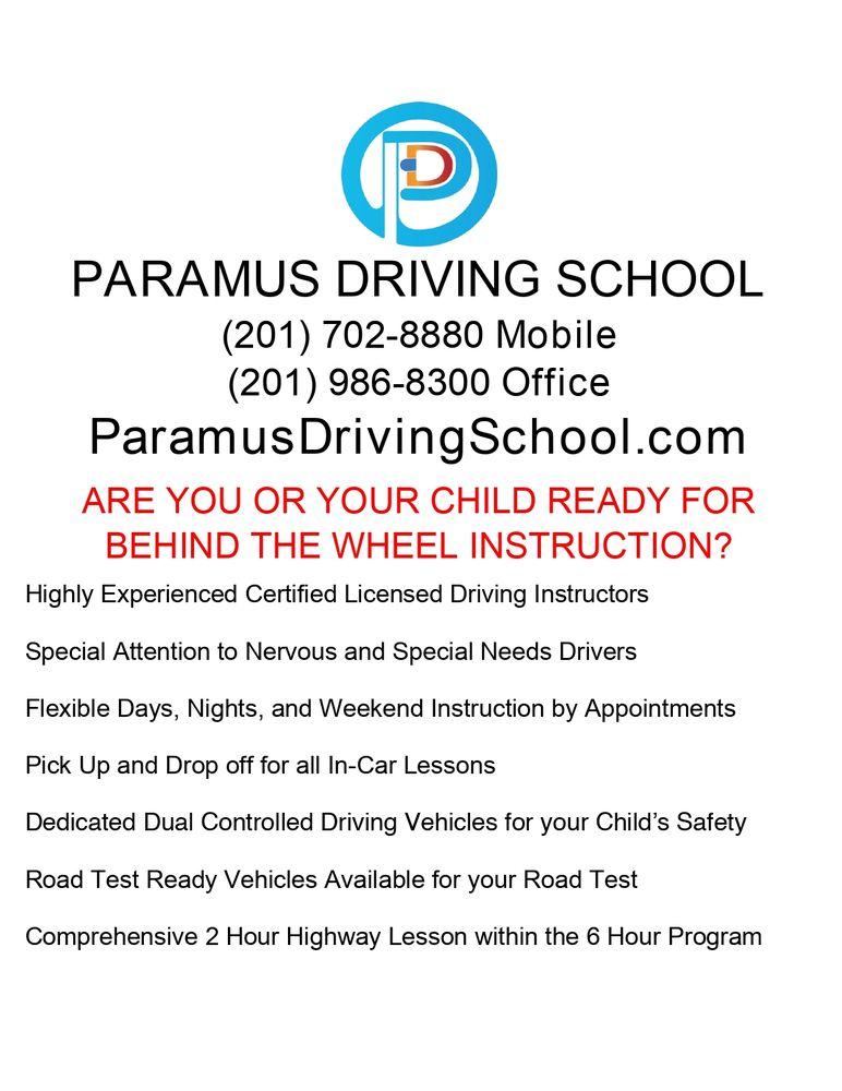 Paramus Driving School: 193 Route 17 South, Paramus, NJ