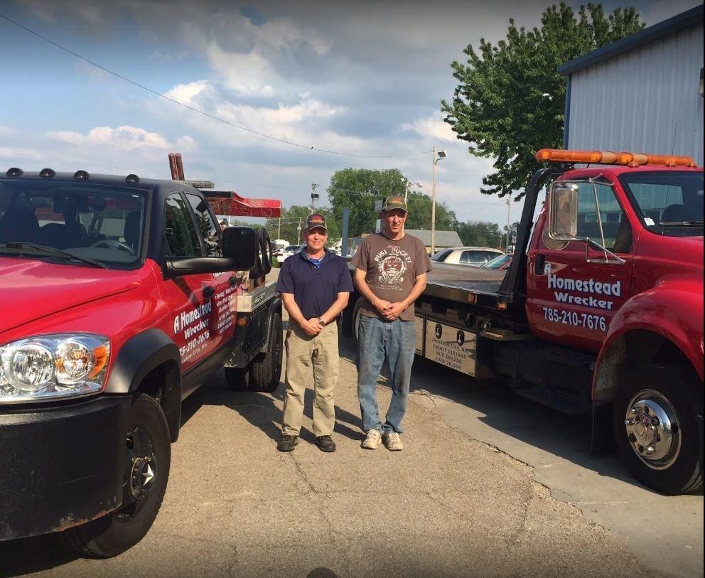 Homestead Tow Service: 1736 N Washington St, Junction City, KS