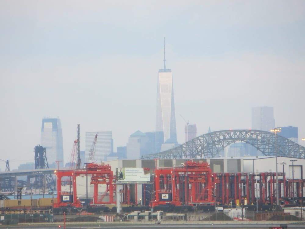 Freedom Tower As Seen From Ewr Yelp