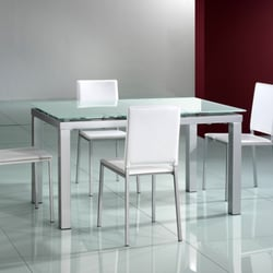 Photo Of European Connection Furniture   Chicago, IL, United States.  Extendable Dining Table