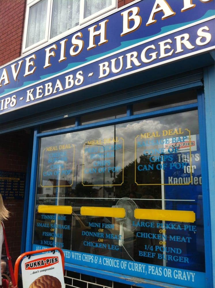 Sea wave fish bar fish n 39 chips 140 halesowen road for Wave fish and chips