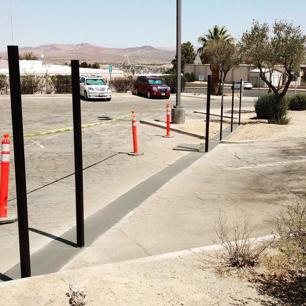 Ellis Fence: 28633 Old Hwy 58, Barstow, CA