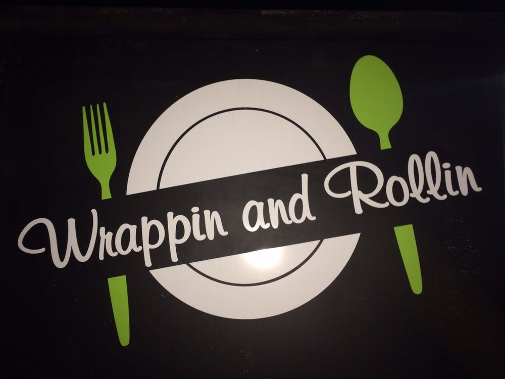 Image result for wrappin and rollin logo roseburg