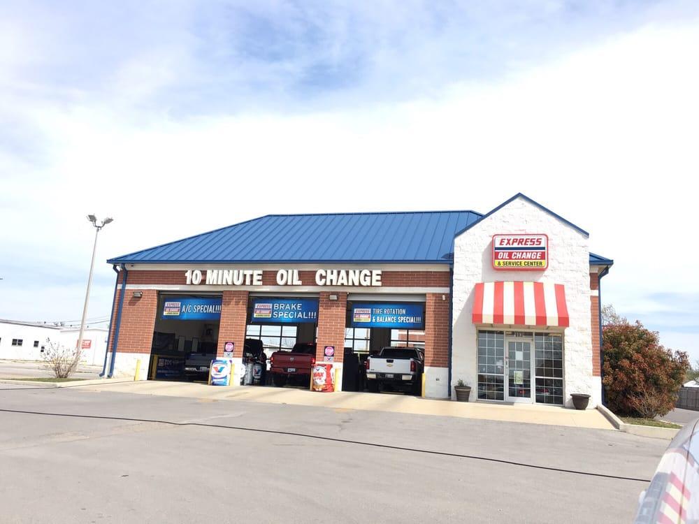 Express Oil Change & Service Center: 803 NW Sheridan Rd, Lawton, OK