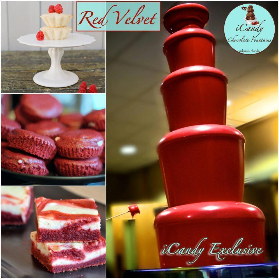 Red Velvet Chocolate Fountain Yelp