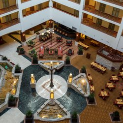 Photo Of Renaissance Charlotte Suites Hotel Nc United States Atrium