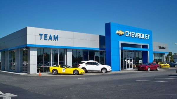 Team Chevrolet Salisbury Nc >> Team Chevrolet Cadillac Buick Gmc 404 Jake Alexander Blvd S