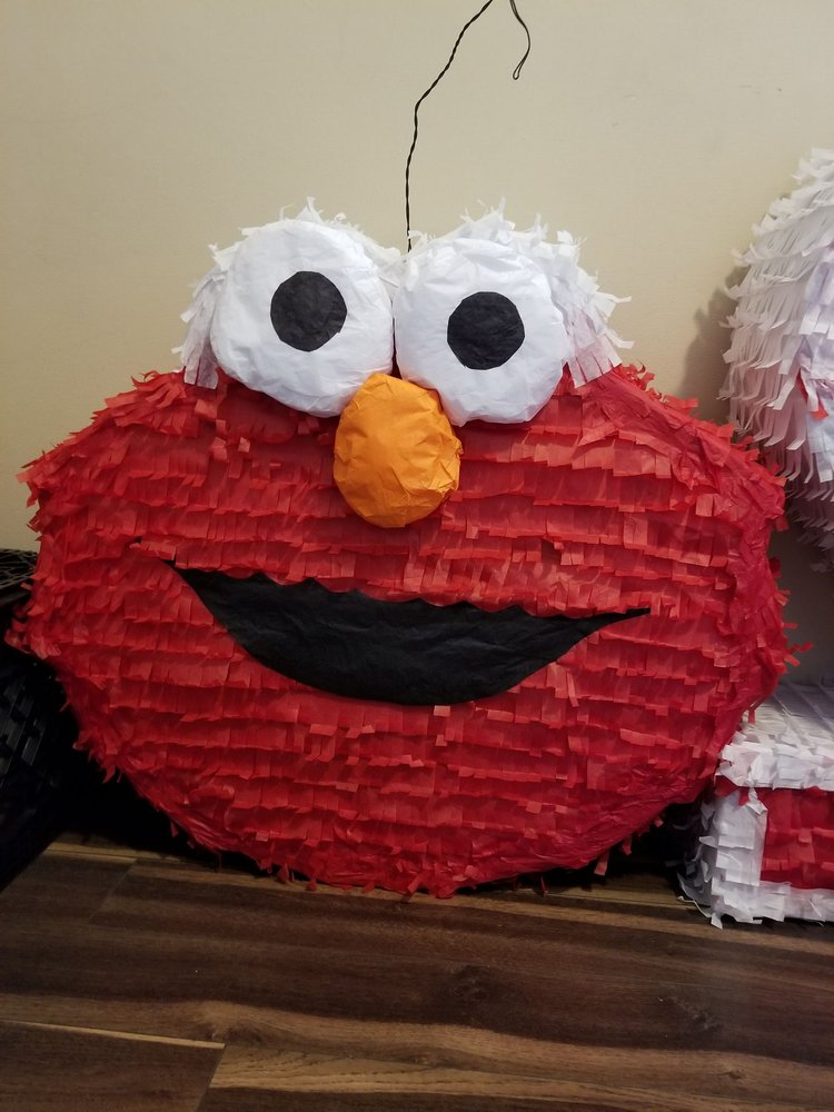 I am beyond pleased with elmo pinata  I never expected it to