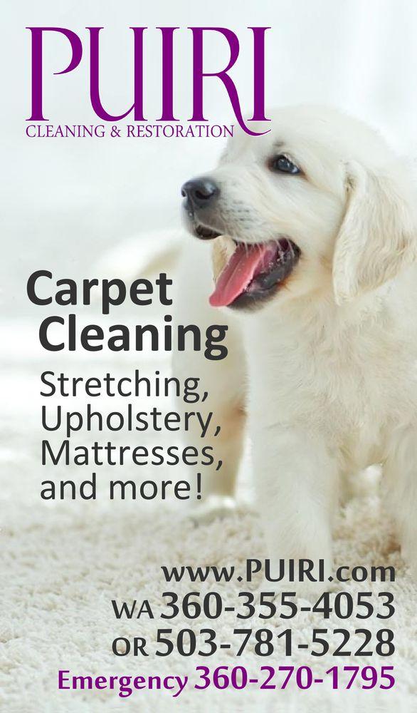 Puiri Cleaning & Restoration: Longview, WA