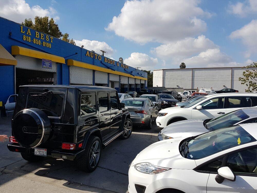 Auto Shops Near Me >> LA Best Auto Body Shop - 17 Photos & 38 Reviews - Body ...