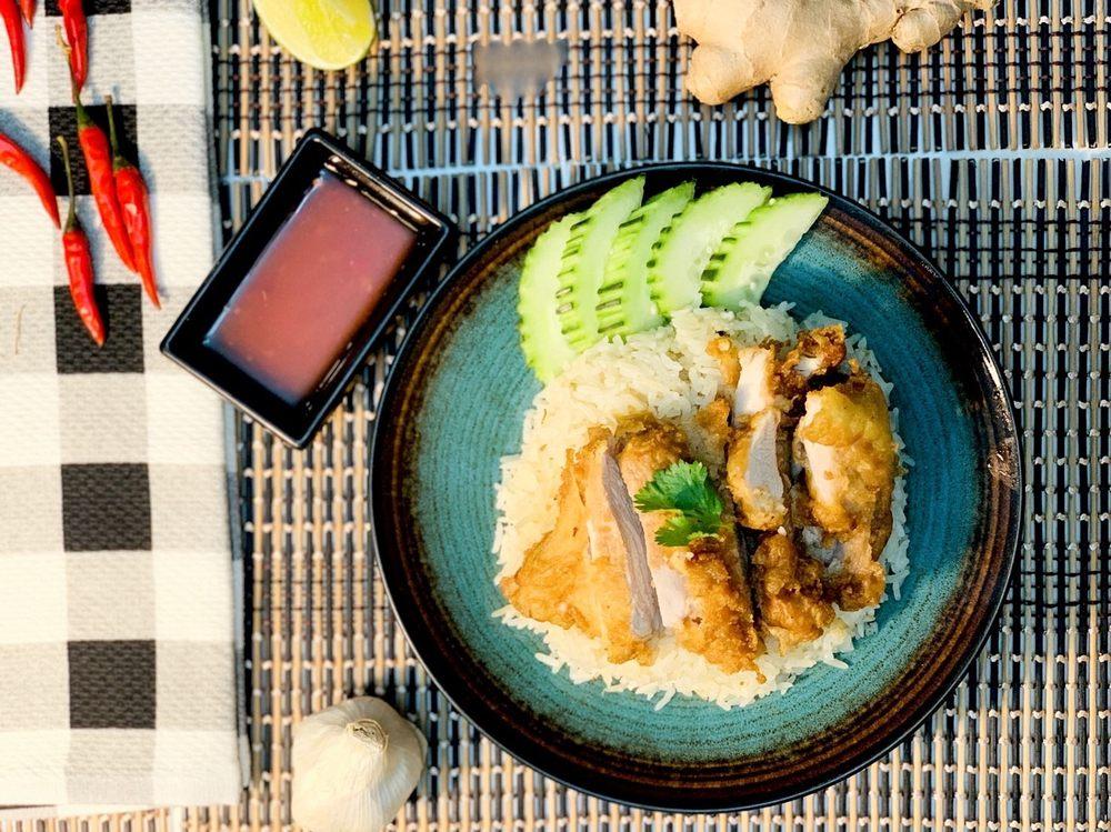 Kindi Thai Chicken Rice: 25387 Pleasant Valley Rd, Chantilly, VA
