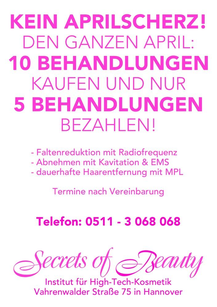 secrets of beauty haarentfernung vahrenwalder str 75 vahrenwald hannover niedersachsen. Black Bedroom Furniture Sets. Home Design Ideas