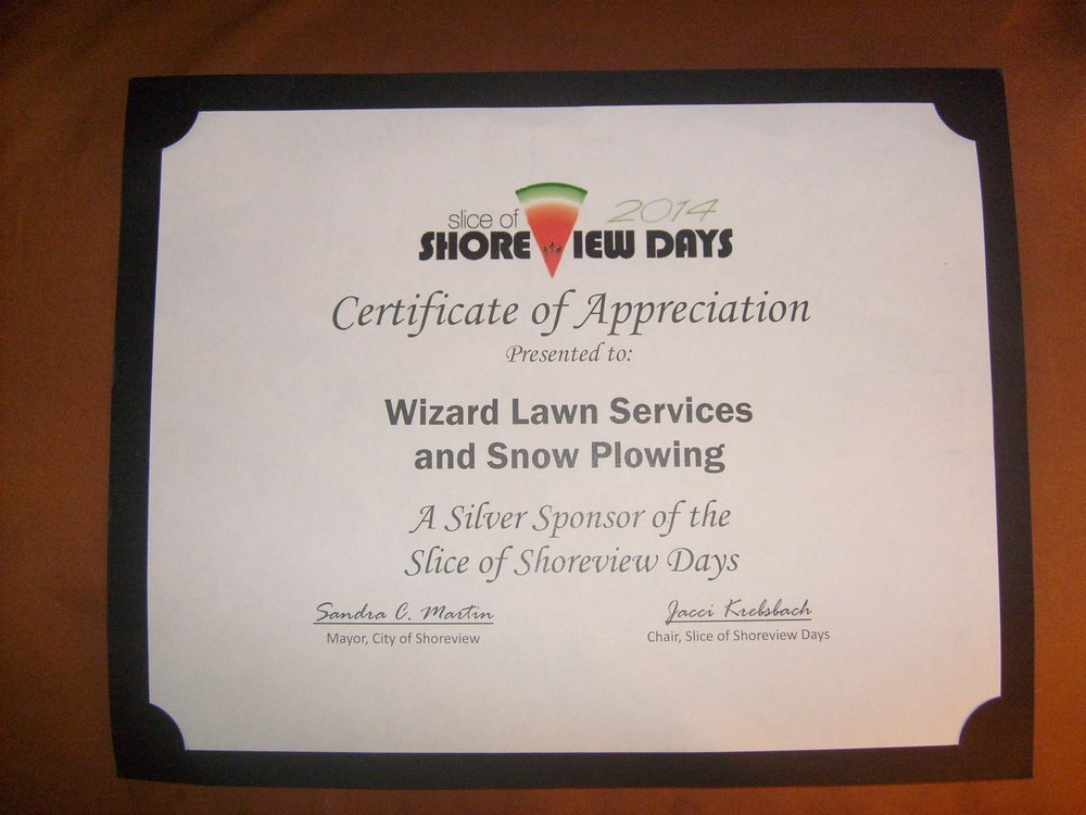 Wizard Lawn Service and Snow Plowing