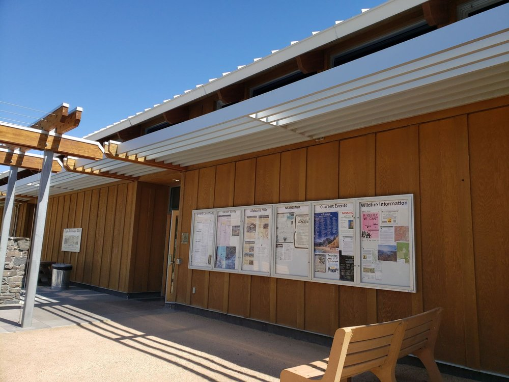 Eastern Sierra Interagency Visitor Center: US Hwy 395, Lone Pine, CA