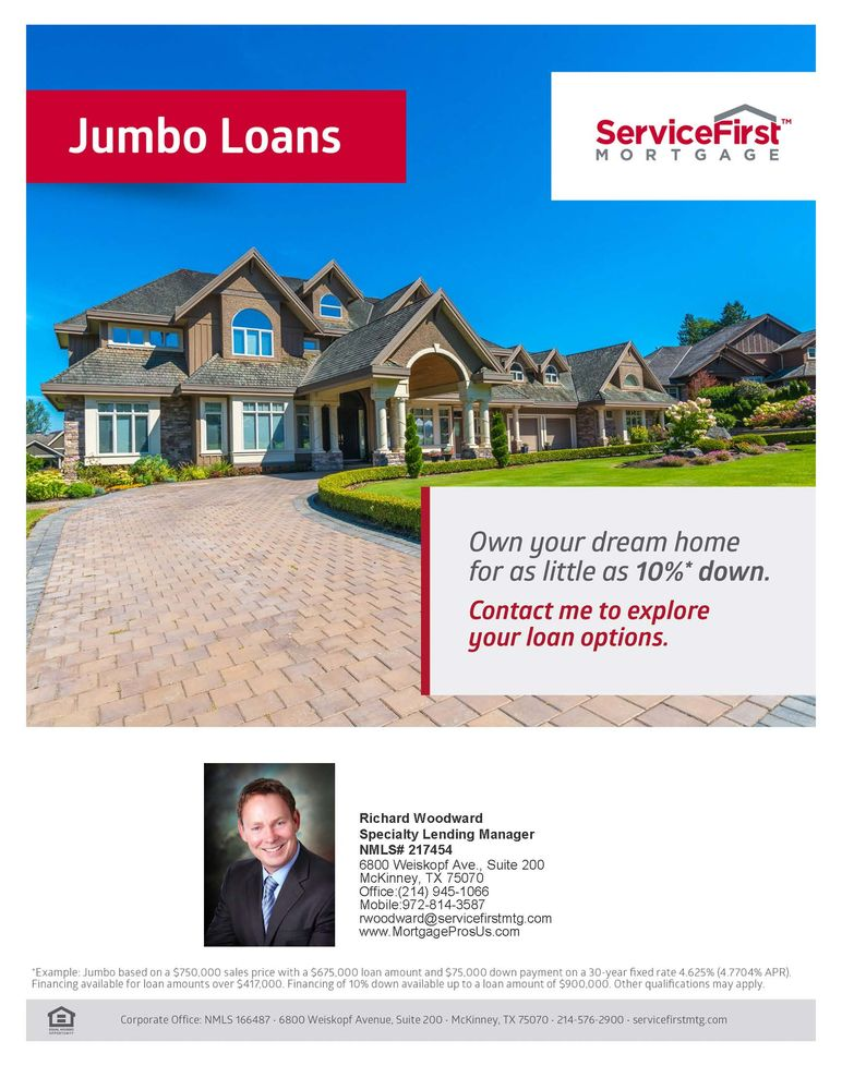 Richard Woodward Mortgage Team at Interlinc: 7711 San Jacinto Pl, Plano, TX