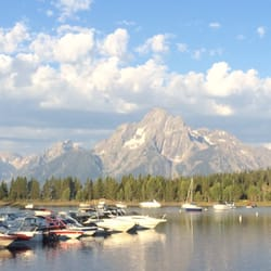 Photo Of Colter Bay Village And Marina Moran Wy United States