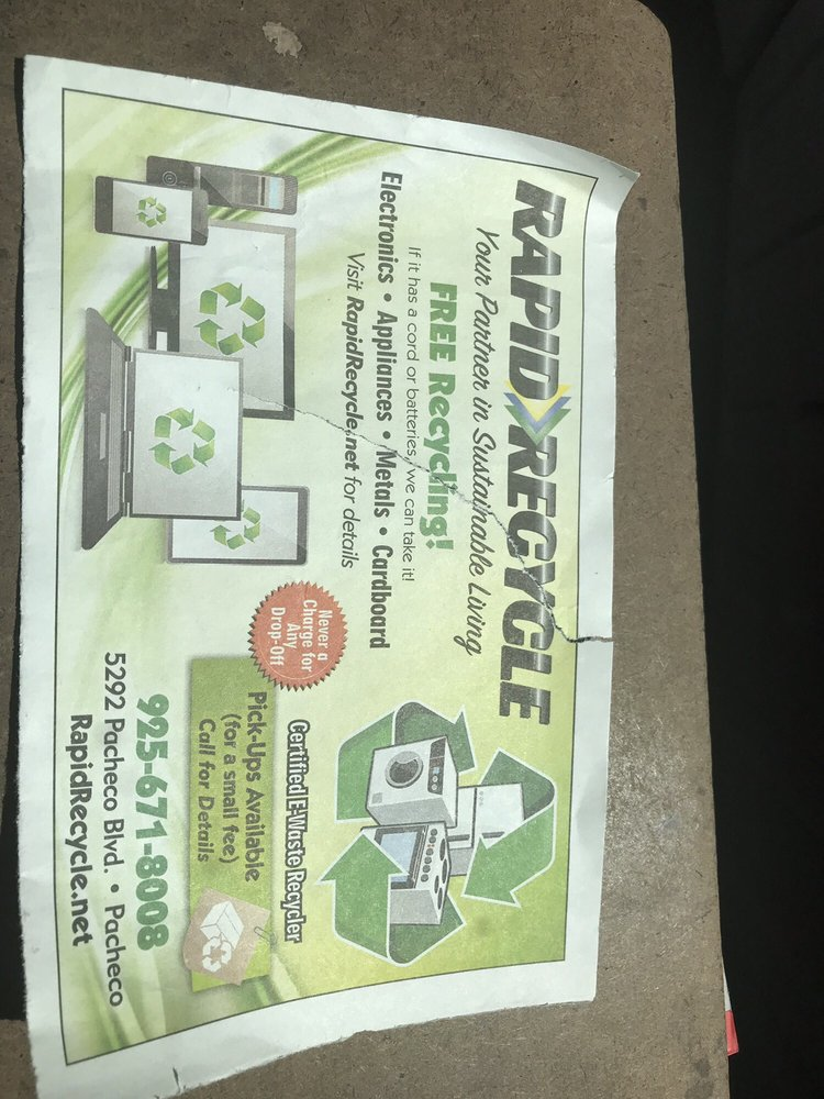 Rapid Recycle: 5292 Pacheco Blvd, Pacheco, CA
