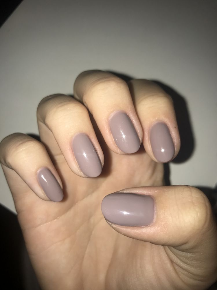 My fixed nails by Katie, they\'re perfect! (little red spot on my ...