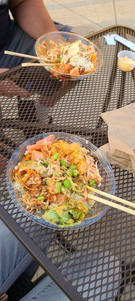 Food from Poke Plus Kenosha