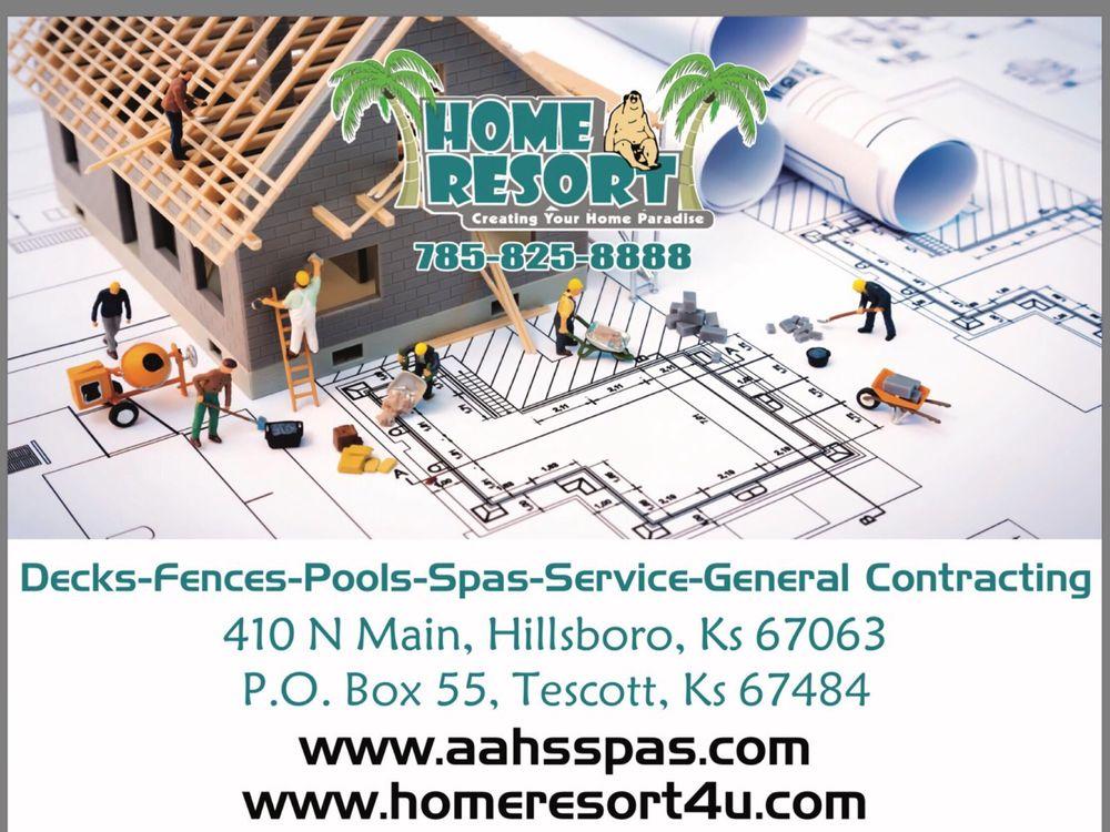 Aahs Spas By Home Resort: 410 N Main, Hillsboro, KS