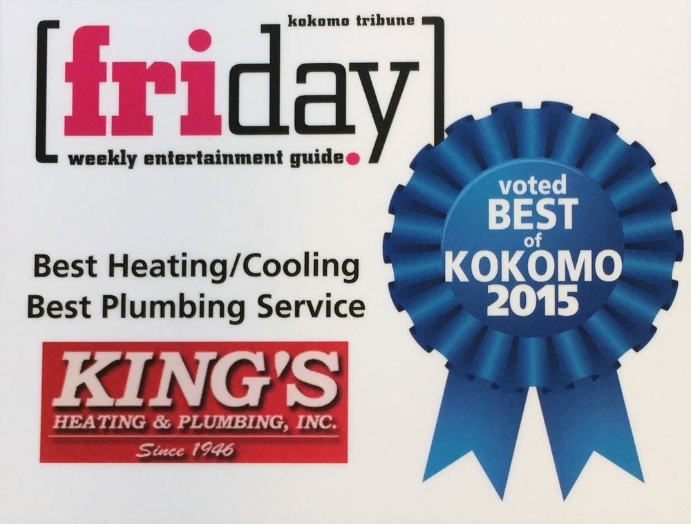 King's Heating & Plumbing: 115 E Vaile Ave, Kokomo, IN