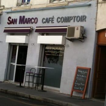 San Marco Café Comptoir - French - 127 rue des Charmettes, Lyon 6Eme on