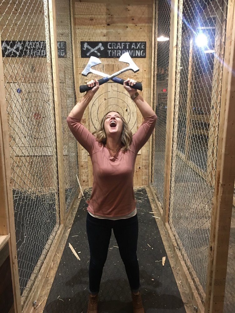 Craft Axe Throwing- Greenville SC