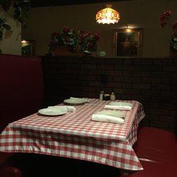 Photo Of Provinos Italian Restaurant Roswell Ga United States Dining Set Up