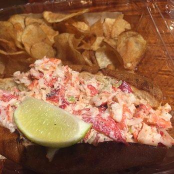 ... of Joe's Stone Crab - Miami Beach, FL, United States. Lobster roll
