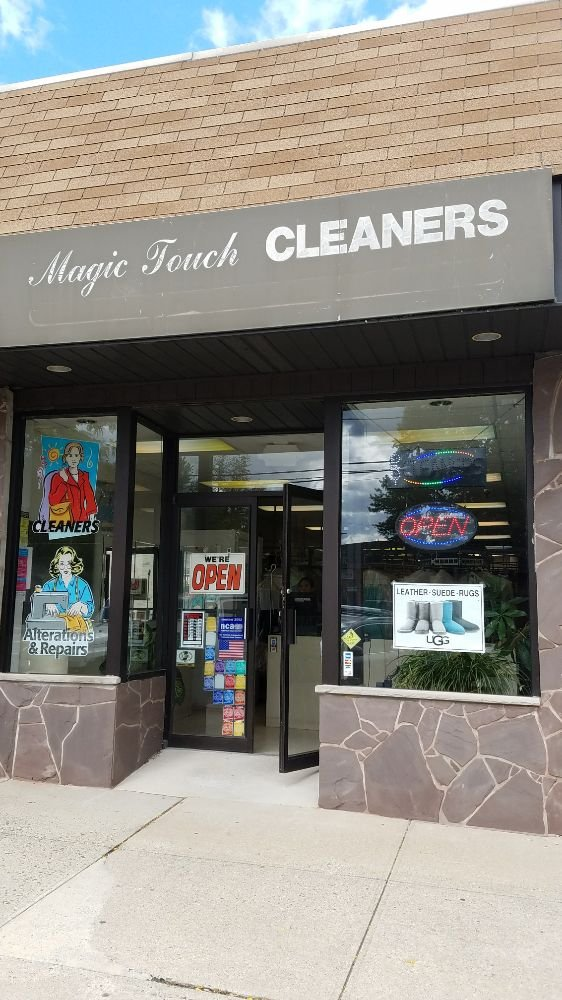 Magic Touch Cleaners: 25 W Hudson Ave, Englewood, NJ