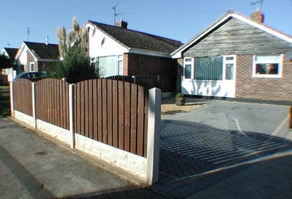 Modular Concrete Fencing Gardeners Polton Road
