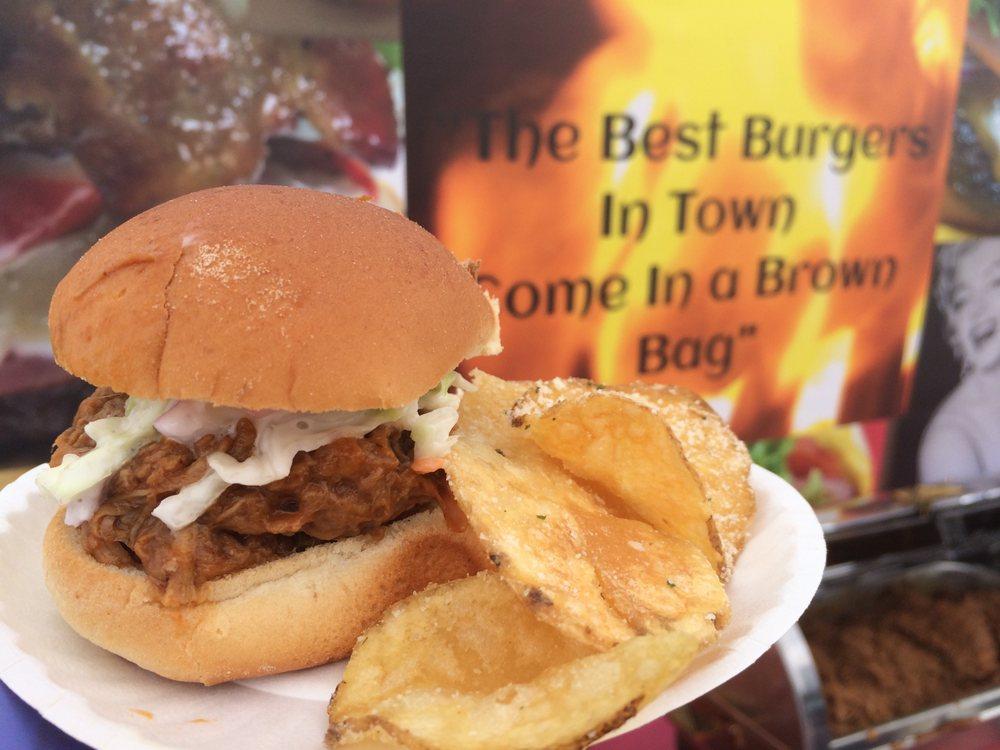 Food from Brown Bag Burger